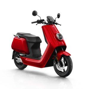 moto electrica niu n roja